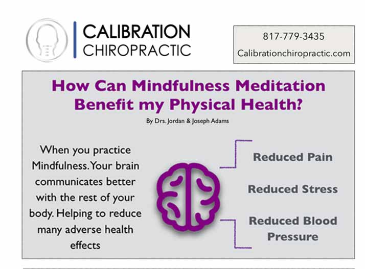 Chiropractic Mansfield TX Mindful Meditation