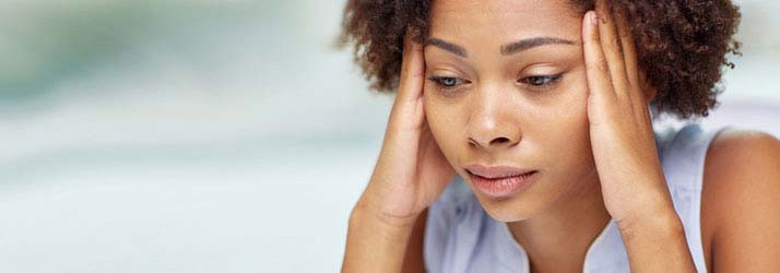 Chiropractic Mansfield TX Woman With A Headache